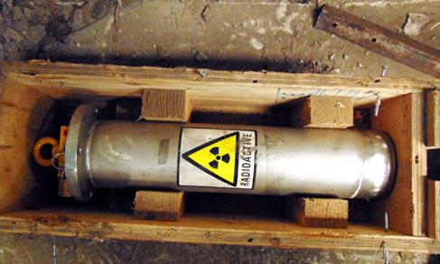 Tìm kiếm nguồn phóng xạ thất lạc ở... vựa ve chai