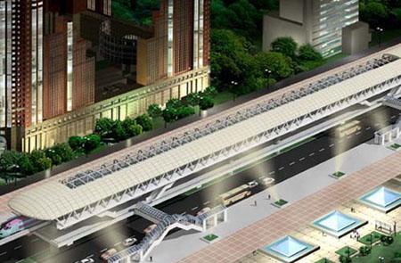 Mô hình dự án tuyến đường sắt