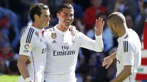 Bale sẽ có mặt trong trận derby thành Madrid với Atletico