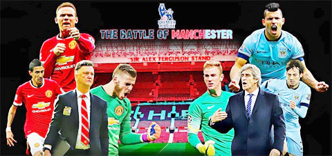 Man United hay Man City sẽ nắm ngôi vương sau trận derby