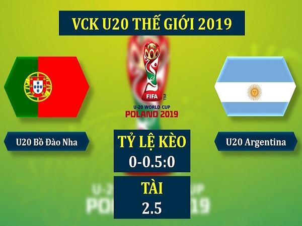 Nhận định U20 Bồ Đào Nha vs U20 Argentina, 23h ngày 28/5