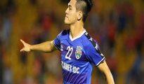 Tiến Linh đã có bàn thắng đầu tiên cho B.Bình Dương ở mùa giải 2019.
