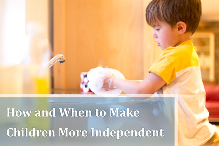 Cách khuyến khích Rèn tự lập ở trẻ