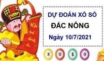 Dự đoán XSDNO ngày 10/7/2021