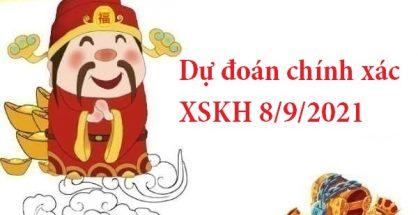 Dự đoán chính xác XSKH 8/9/2021